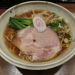 らーめん一郎 - 醤油ラーメン780円
