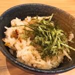 瓦.Tokyo - 炊き込みご飯