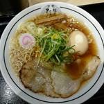 京都 麺屋たけ井 - 味玉ラーメン(並)850円