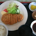 お食事処 花びし - 料理写真:かつ定食