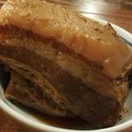 麺 酒 やまの - 料理写真:トロ豚