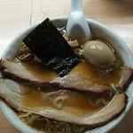 中華そば 橙屋 - 料理写真:橙そば+大盛