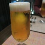 キャトルラパン - まずは、ビールで