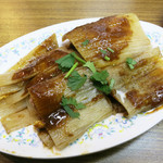天天楽 - 焼き冷麺(烤冷面) 500円