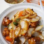 中華料理 河童軒 - 酢豚丼