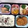 三谷牛肉店 - 料理写真:チキンカツ&焼鮭ミックス