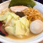 無銘 - 熟成練り醤油ラーメン+味玉