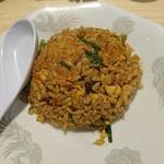 サバ6製麺所 - セットの焼き飯