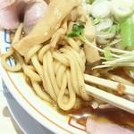 サバ6製麺所 - 極太麺