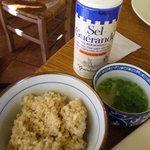 野菜畑 - 玄米