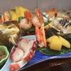 寿しの喜久代 - 料理写真:道産の刺身盛り合せ