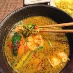 薬膳スープカレー・シャナイア - 野菜は数種