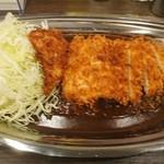 カレーショップ はらぺこ - チキンカツカレー(M)