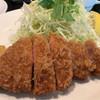 カズサヤ - 料理写真:ランチロースカツ(100g) 1200円。