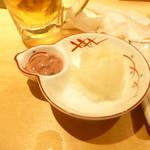 揚げたて天ぷら定食 まきの - 薬味