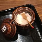 宮島ラーメン安芸侍 - ベースの藻塩
