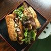 福のじ - 料理写真:骨付き肉のホットドッグ(試作品)