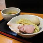 つけ麺 舞 - 濃厚鶏つけそば + 味玉☆