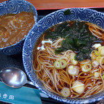 そば処 大吉田 - ミニカレーセット(530円)