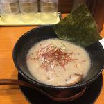ラーメンひふみ - ひふみラーメン  鶏白湯
