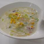 大喜 - キャベツととうもろこしのスープ