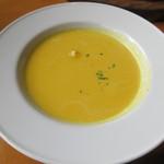 65691454 - 【かぼちゃのスープ 450円】