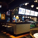 肉が旨いカフェ NICK STOCK - 海外っぽい雰囲気も!