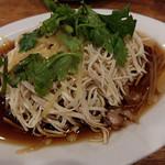 台南担仔麺 - 干し豆腐