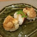 池袋 一龍庵 - あなご寿司