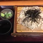 蕎麦 冷麦 嵯峨谷 - 2017.4