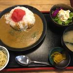 角打 - 野菜咖哩らいす@800円