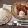ビストロアデン - 料理写真:チキン南蛮+ライス(Aセット)