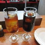 バル デ エスパーニャ ムイ - カフェ アイスティー アイスコーヒー