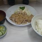 角常食堂 - 料理写真:トンばらステーキ定食