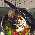 神威 - 角煮丼(温玉のせ)