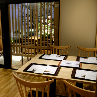 大切なお客様との会食に最適な、京情緒溢れる空間