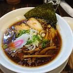 麺蔵 もみじ - 地鶏醤油ラーメン