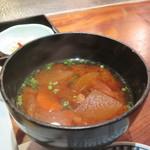 蔵人厨 ねのひ - 根菜たっぷり味噌汁アップ