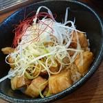 麺家神明 - ランチのチャーシュー丼