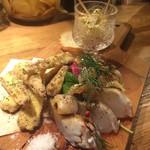 mosh kitchen - 前菜三種