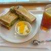 BECK'S COFFEE SHOP - 料理写真:バジルチキンサンドセット@770