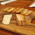 Ata - あんきものテリーヌ 青梅とブリ・ド・モー チーズ添え