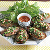 パーナ貝の肉詰め、オーブン焼き