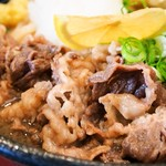 はんげしょう - 肉ちくわ天ぶっかけ(黒毛和牛)