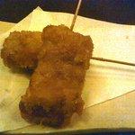 とりぼん - チーズ串カツ(189円×2)