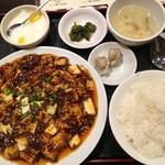 天一房 中華料理 - 麻婆豆腐定食