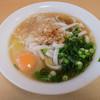 やぶ金 - 料理写真:「月見うどん」(500円)。
