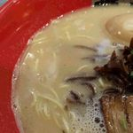 ラーメン 龍の家 - 細麺ときくらげ