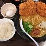 麺屋 武一  - 「チキンカツカレーらーめん」980円
