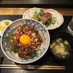 熊本串焼 ノ木口 - 熊本の馬肉ユッケ丼